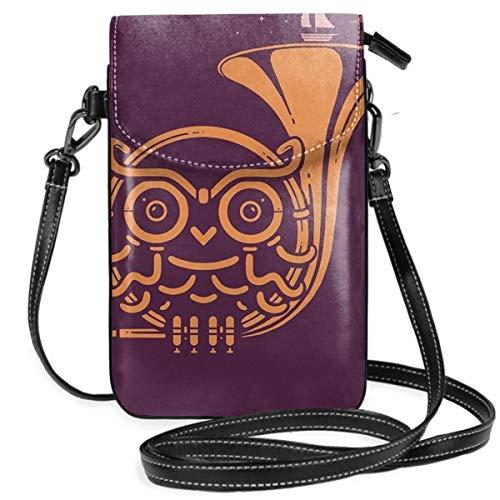 Sunset Melody Leichte kleine Umhängetasche, Handtasche, Geldbörse, Geldbörse für Frauen und Mädchen mit praktischer Tragetasche