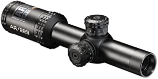 Bushnell AR Optics, Drop Zone Reticle Riflescope with Target Turrets, Matte Black, 1-4x/24mm