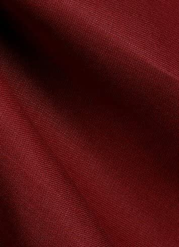Bolt Fashion of Linen Fabric - OFFicial mail order Brussels Slip 403 Beaujolais for Drapery