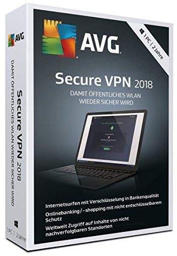 AVG Secure VPN 2018 - 2 Jahre [Import allemand]