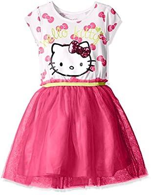 Hello Kitty Girls' Embellished Tutu Dress