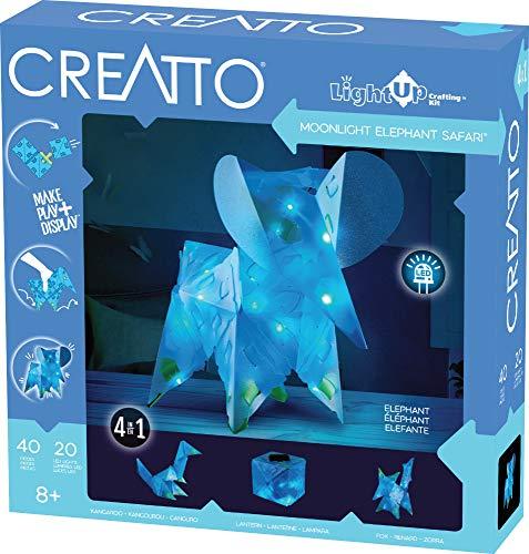 Creatto: Moonlight Elephant Safari Light-Up Craft Puzzle from Thames & Kosmos