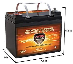 VMAXTANKS Vmax857 Marine Deep Cycle Hi Battery