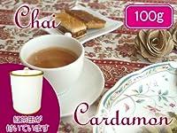 【本格】 茶缶付 カルダモンチャイ用茶葉 100g