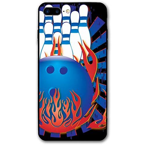 HNJZ-GS Bowlingkugel Bowling Pins Bowler iPhone 7 Plus 8 Plus 7/8 Plus Handyhülle Thema dekorative Handyzubehör