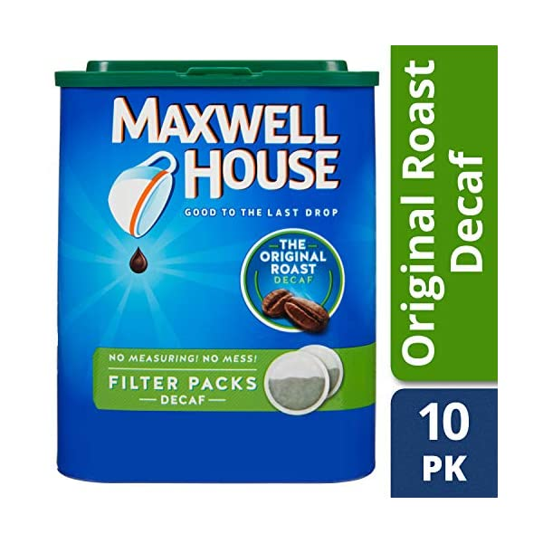 Maxwell House Medium Roast Ground Coffee Decaf