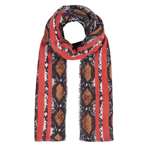 CODELLO XL sjaal met coole snake print