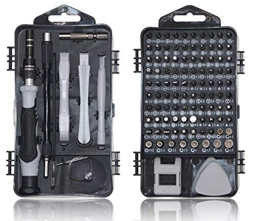 Precision Screwdriver Set,115 in1 Magnetic Repair Tool Kit for iPhone Series/Mac/iPad/Tablet/Laptop/Xbox Series/PS3/PS4/Nintendo Switch/Eyeglasses/Watch/Cellphone/PC/Camera/Electronic