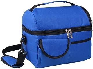 LVESHOP Lalagoランチバッグ、調節可能なショルダーストラップ付きのトートバッグ大容量のフレッシュキーピングバッグ - 春のお出かけ、アイスドリンク、フルーツ、野菜のフレッシュキーピングに最適(ロイヤルブルー) (色 : 青)