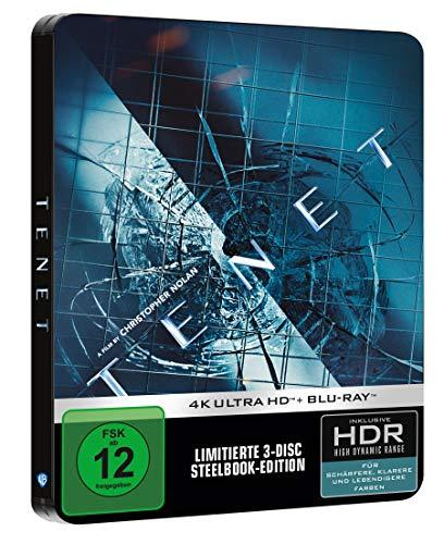 Tenet Limited Steelbook [4K UHD + Blu-ray]