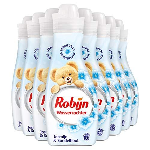 Robijn Jasmijn & Sandelhout Wasverzachter 8 x 750 ml Voordeelverpakking