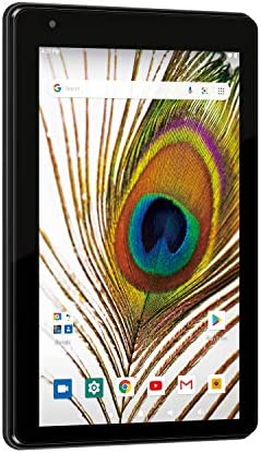 RCA Voyager 7 Android 10 Tablet w Google Play 16GB Storage 2GB RAM WiFi Camera RCT6876Q22N00 product image