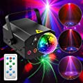 Party Lights Disco Ball Ezire LED Stage Light Rotating Ball Lights Projector Strobe Lights Sound Activated with Remote Control for Xmas Club Bar KTV Holiday Dance Birthday Wedding Home Decoration