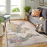 Veryday Alfombra decorativa con diseño de mapamundi, para salón, dormitorio,...