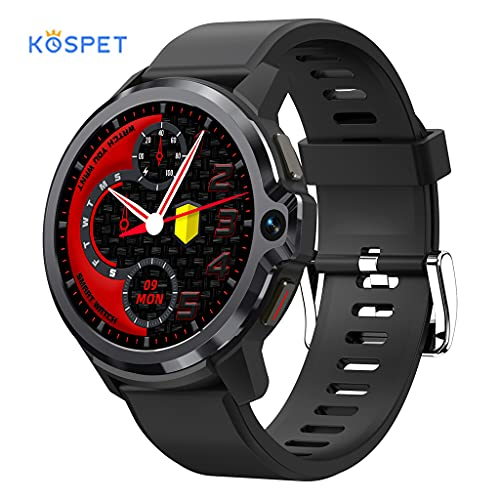 Myya Smart Watch, Kospet Prime S Reloj Inteligente Con Pantalla De Círculo Completo De 1,6 Pulgadas, Monitor De Salud Dual Reloj Inteligente De Oxígeno En Sangre Con Frecuencia Cardíaca, Androides Lla