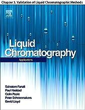 Liquid Chromatography: Chapter 3. Validation of Liquid Chromatographic Methods