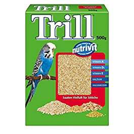Trill Budgie Food, 12 Boxes (12 x 500 g)
