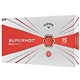 Callaway Golf 2020 SuperHot Bold Matte Golf Balls (Red)