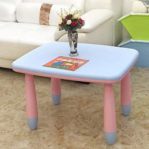 Praktische Einfachheit Dekoration Möbel Kinder Tisch Aktivität Schreibtisch Kinderzimmer Kunststoff Multifunktionsmöbel Tisch, Bunte Farben Ziehen Baby an, lsa, Style2, 72 x 56 x 47 cm