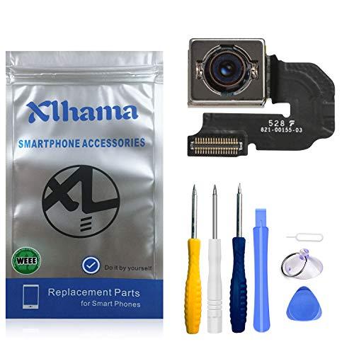 Xlhama Fotocamera Camera Posteriore per iPhone 6S Plus Modulo di Riparazione delle Parti di Ricambio Principali, Sfocatura Schermo Nero Messa a Fuoco Automatica con Kit di Strumenti di Riparazione