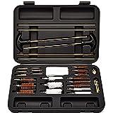 Falko Tactical Universal Gun Cleaning Kit - Reliable Brass Gun Accessories - Rifle Cleaning Kit, Pistol Cleaning Kit, Shotgun Cleaning Kit, Handgun Cleaning Kit