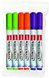 Cello Whitemate Vivid Whiteboard Marker - 6 vibrant ink colours| Office and School Stationery