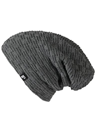 Lower East Herren Wintermütze / Beanie, Grau, OS