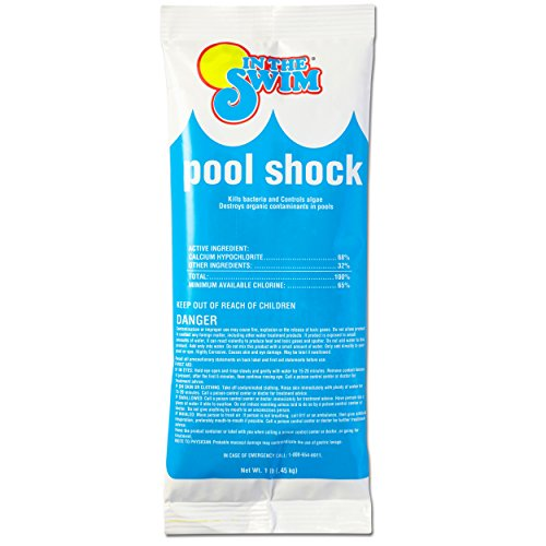 In The Swim Chlorine Pool Shock - 12 X 1 Pound Bags