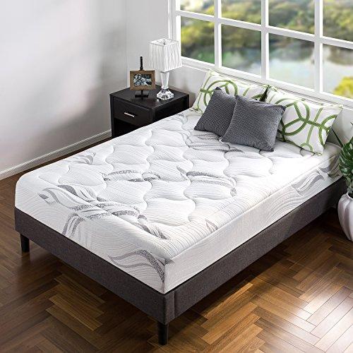 ZINUS 10 Inch Cloud Memory Foam Mattress / Pressure Relieving / Bed-in-a-Box / CertiPUR-US Certified, Queen