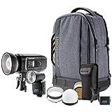 Westcott FJ Wireless Flash 2-Light Portable Portrait Kit (FJ80 & FJ400) - Color Consistent 400ws Strobe & 80ws Speedlight Kit for Wedding and Portable Portrait Photography