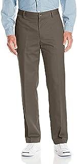 Men's No-Iron Classic-Fit Flat-Front Pant