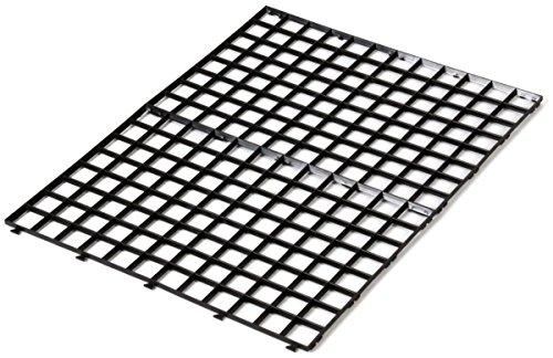 Gläserabtropfmatte schwarz 30 x 20 cm 4 Stück steckbar