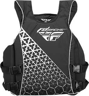 Fly Racing Unisex-Adult Pullover Vest Black/White Medium
