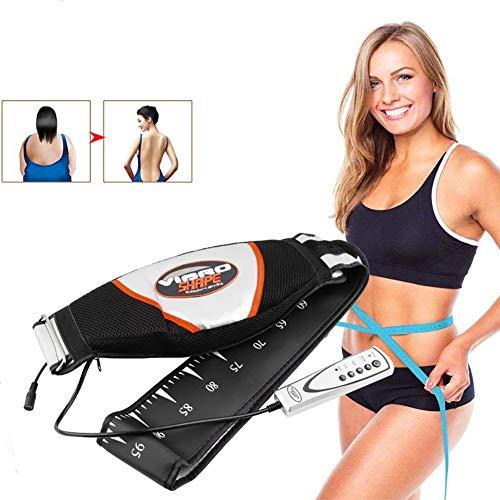 BNBXP Masajeador Vibrador De Cintura, Cinturón De Masaje Adelgazante Eléctrico para El Cuerpo, Herramientas De Cuidado De La Salud para Adelgazar Grasa Y Quemar El Músculo