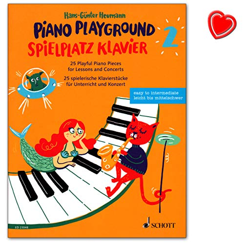 Parque de juego para piano/piano Playground Band 2 – 25 piezas de piano para clases y conciertos.