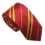 Multiculture Harry Potter Krawatte Gryffindor Ravenclaw Hufflepuff Slytherin Kostüm (Gryffindor-rot)