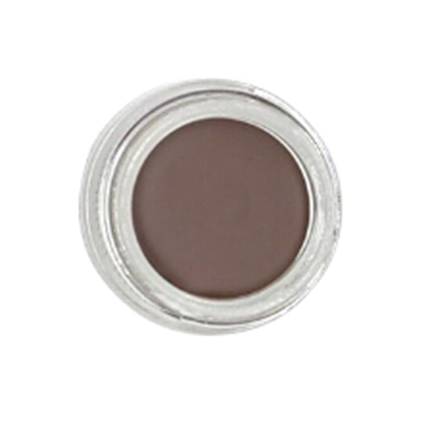 TerGOOSE 眉毛の眉ジェルシャドウ 色素ティントクリーム 防水タトゥークリーム眉毛 メイクアップ マニュアルペン(チョコレート)