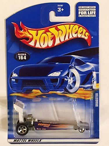 #2001-164 Dragster Mini 5-Spoke Wheel Collectible Collector Car Mattel Hot Wheels