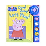Peppa Pig - Ding! Dong! Let's Play! Doorbell Sound Book - PI Kids (Play-A-Sound)