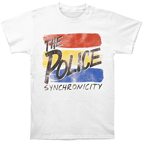 American Classics The Police T Shirt Synchronicity Adult Short Sleeve L