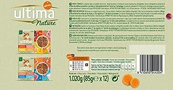 Ultima Nature Nourriture Humide pour Chat Stérilisé au Poisson: 4 Multipacks de 12 unités - Total: 4080 g
