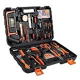 Sotech 114 Teile Werkzeugkoffer, Mechanischer Werkzeugkoffer für Heimreparaturen, Tägliches DIY, mit Aufbewahrungskoffer, 4,1 kg