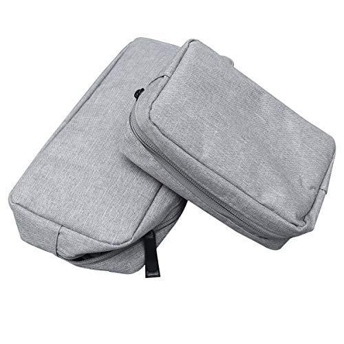 2 unids accesorios digitales bolsa de almacenamiento electrónica protección bolsa organizador para...