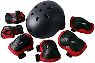 Rayhome Sports Protective Gear Skating Knee Elbow Support Pads Set Outdoors Safety Protection for Scooter, Skateboard, Bicycle, Rollerblades
