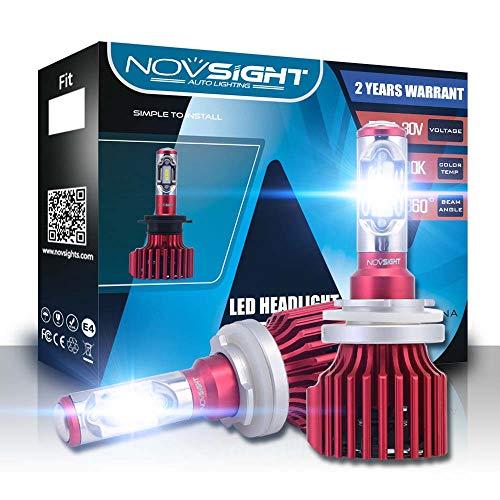 Novsight H15 10000 Lm DEL Phare High Beam DRL Sans Erreur Canbus Ampoule Lampe UK