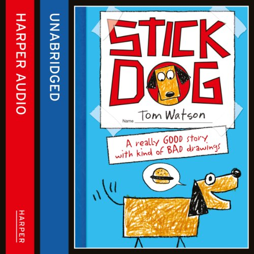 Stick Dog audiobook cover art