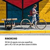 Zoom IMG-1 klarfit companion travel rimorchio per