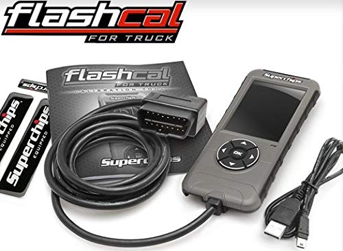 BRAND NEW SUPERCHIPS FLASHCAL F5 IN-CAB TUNER,DIESEL & GASOLINE ENGINES,COMPATIBLE WITH 1999-2018 GM & CHEVROLET TRUCKS