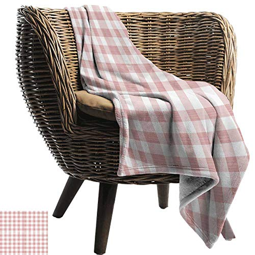 ZSUO picknick deken waterdicht geruit oude modieuze Ierse Britse tegel mozaïek in levendige groene kleuren, Emerald Lime groen wit Cozy hypoallergeen gemakkelijk te dragen deken