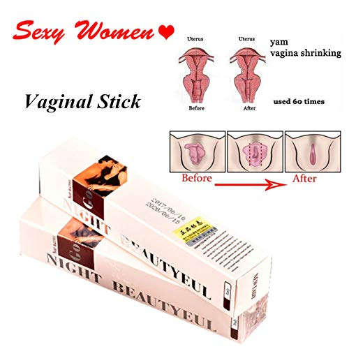 RedDhong 2 Pcs Vaginal Tightening Stick, Vaginal Getting Tighter, Vaginal Repair Shrink Stick for Rejuvenation, Narrowing, Treating and Shrinking Vagina Muscle for Female
